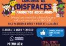 CONCURSO DE DISFRACES DE PRODUCTOS RECICLADOS